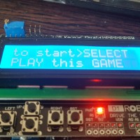 Игра на LCD Keypad Shield D1robot и Arduino UNO , делаем простую игру на ардуино