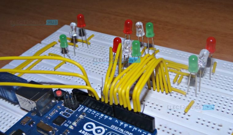 Micro controller programming: Making a set of traffic